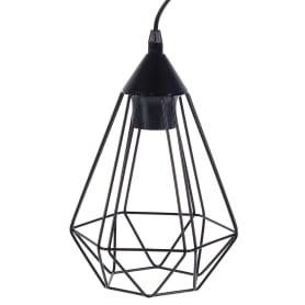 Настольная лампа Eglo «Tarbes» 1xE27x60 Вт, цвет чёрный