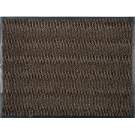 Коврик «Step» полипропилен 90x120 см цвет коричневый
