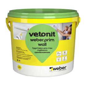 Грунтовка для стен Weber Vetonit Prim Wall 5 л