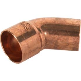 Отвод 45° Viega 18 мм внутреннее-наружое соединение, медь