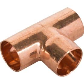Тройник Viega 18х18х18 мм наружное-наружное-наружное соединение, медь