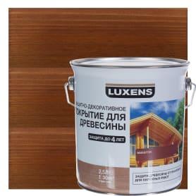 Антисептик Luxens цвет махагон 2.5 л