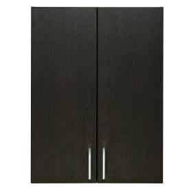 Шкаф навесной «Поль» 60 см цвет коричневый