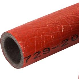 Теплоизоляция для труб СуперПротект 18/4 мм 11 м цвет красный