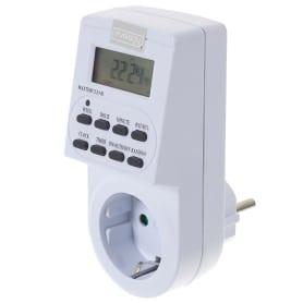 Таймер электронный TGE-2, LCD дисплей, цвет белый