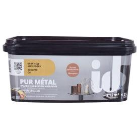 Краска Pur Metal цвет золотой база 2 л