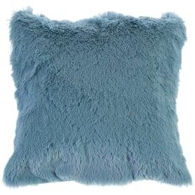 Подушка декоративная 40х40 см цвет голубой