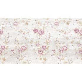 Плитка наcтенная «Прованс» 25х45 см 1.46 м2 цвет бежевый/розовый
