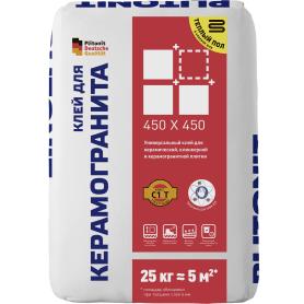 Клей Plitonit для керамогранита 45х45 см 25 кг