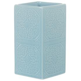 Стакан для зубных щёток настольный «Tiffany» керамика цвет синий