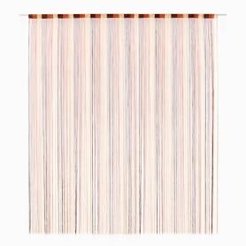 Кисея Градиент 150х280 см цвет экрю/шоколадный
