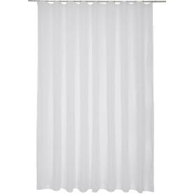 Тюль на ленте «Лол» 300х280 см цвет белый