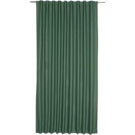 Штора на ленте «Ночь» 200х280 см цвет зелёный