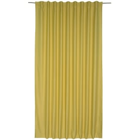 Штора на ленте «Ночь» 200х280 см цвет светло-жёлтый