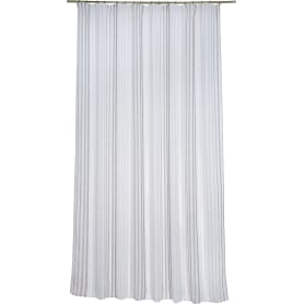 Штора на ленте «Лина» 200х280 см цвет серый