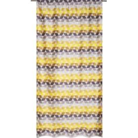 Штора на ленте «Охара» 140х280 см цвет жёлтый