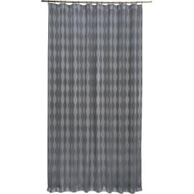 Штора на ленте «Веллен» 200х280 см цвет серый