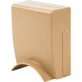 Адаптер для напольного кабель-канала 74х20 мм цвет дуб