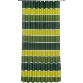 Штора на ленте «Сима» 200х280 см цвет зелёный