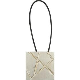 Подхват магнитный «Грейс» 5.8х34 см цвет серебряный