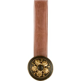 Подхват магнитный «Наима» 4,3х28 см цвет бронзовый