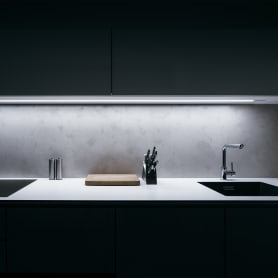 Подсветка рабочей зоны 1 м, свет холодный белый