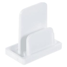 Заглушка для трекового шинопровода, цвет белый