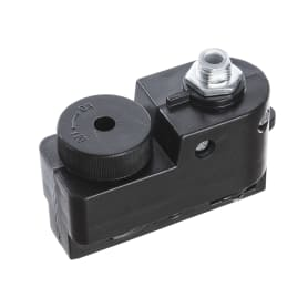 Адаптер для подключения любого светильника к трековой системе, цвет черный