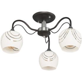 Люстра потолочная Katy 1251/3С, 3 лампы, 15 м², цвет венге