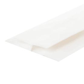 Профиль ПВХ соединительный 5 мм, 3000 мм, цвет белый