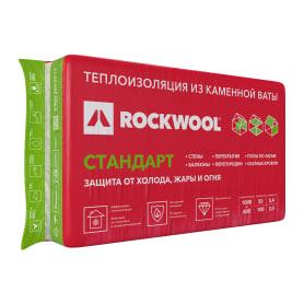 Утеплитель Роквул Стандарт 100 мм 2.4 м²