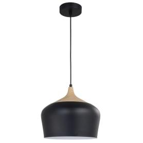 Светильник подвесной Inspire «Fresno» 3 м2 цвет черный
