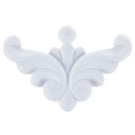 Декор для мебели «Уголок 546», 57x57x7 мм