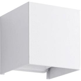 Бра светодиодное «Kubbo» 9 Вт металл, цвет белый
