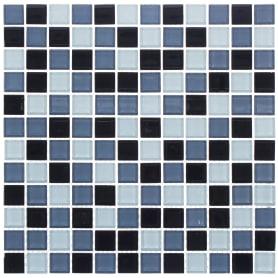 Мозаика Artens Shaker 30х30 см, стекло, цвет синий