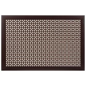 Экран для радиатора Дамаско 90х60 см, цвет венге