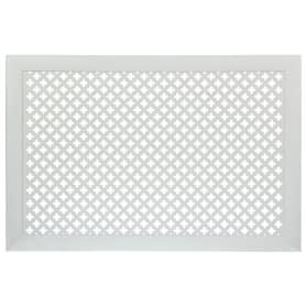 Экран для радиатора Готико 90х60 см, цвет белый