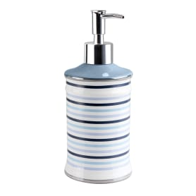 Дозатор для жидкого мыла настольный «Морская» керамика