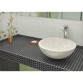 Мозаика Artens, 30х26 см, керамика, цвет чёрный