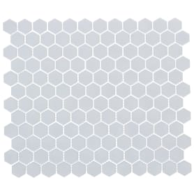 Мозаика Artens 30х26 см керамика, цвет белый
