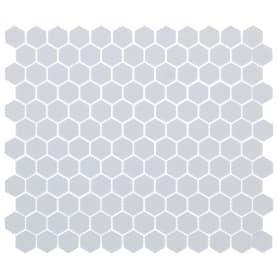 Мозаика Artens 30х26 см керамическая цвет белый