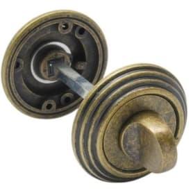 Завёртка сантехническая EDS-WC V003 AGED BRONZE, цвет античная бронза