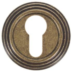Накладка на цилиндр EDS-SC V001 AGED BRONZE, цвет античная бронза