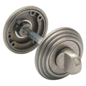 Завёртка сантехническая EDS-WC V003 AGED SILVER, цвет античное серебро