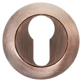 Накладка на цилиндр EDS-B0-10 ANT.COPPER, цвет античная медь
