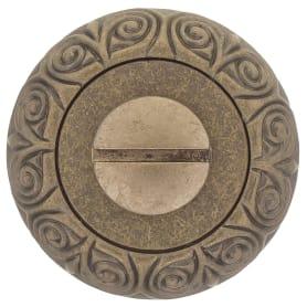 Завёртка сантехническая EDS-WC-20 ANT.BRASS, цвет античное золото