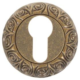 Накладка на цилиндр EDS-B0-20 ANT.BRASS, цвет античное золото