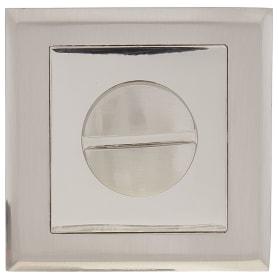 Завёртка сантехническая EDS-WC-30 S.CHROME, цвет никель