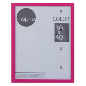 Рамка Inspire «Color», 30х40 см, цвет фуксия