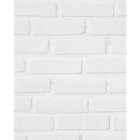Комплект панелей ПВХ Белый кирпич 8 мм 2700х375 мм 2.025 м² 2 шт